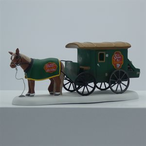 DK SWAN AND TRUMPET BEER WAGON
